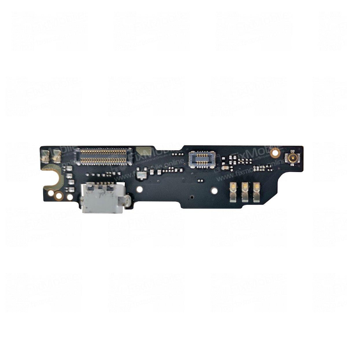 Шлейф для Meizu M3 Note M681h плата на системный разъем/микрофон/кнопку Home