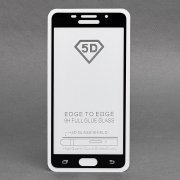 Защитное стекло для Samsung Galaxy A5 (2016) A510F (полное покрытие)(черное) — 1