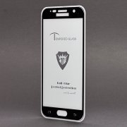 Защитное стекло для Samsung Galaxy S7 (G930F) (полное покрытие)(черное) — 2