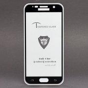 Защитное стекло для Samsung Galaxy S7 (G930F) (полное покрытие)(черное) — 1