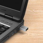 Адаптер (переходник) MH301 (USB - Type-C) (серый) — 3