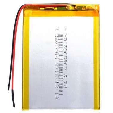 Аккумуляторная батарея универсальная 386590p (3.8*65*90 мм) — 1